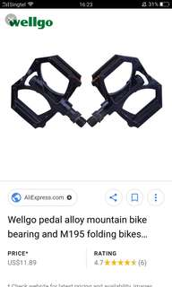 Wellgo m195 Platform pedals for sale 🔥