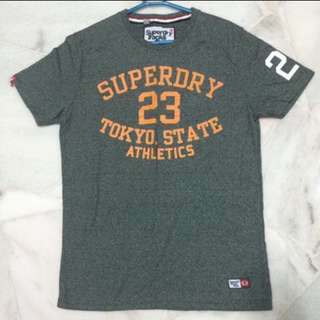 SuperDry Men's Tokyo State Athletics Tee (Size M) from U.S