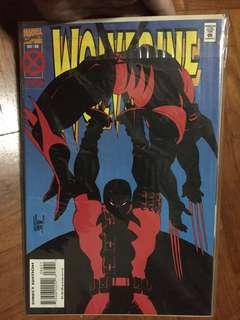 NM Marvel Comics Dec 88 Wolverine with Deadpool
