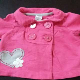 0-2mos Carter's Cutie Top for baby