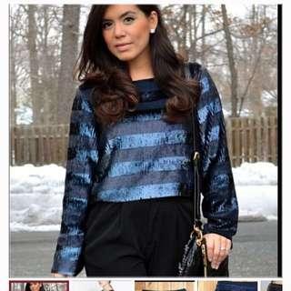 XS Zara Sequin Top