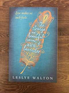 The Strange and Beautiful Sorrows KF Ava Lavender