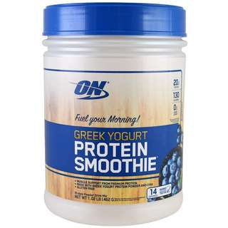 Greek Yogurt, Protein Smoothie, Blueberry , 1.02 lb (464 g)
