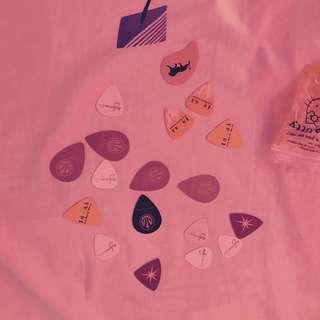 Guitar Casino Picks