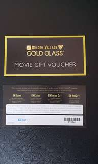 GV Gold Class Ticket