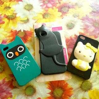 Casing Iphone 4s ( Rp 40.000 Dapat 3 )