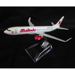 Malindo Air Boeing 737 / Model Aeroplane / Airplane / Diecast model