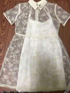 Pazzo 花朵洋裝 M號 全新