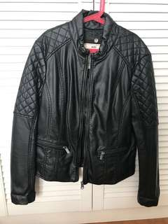 Espirt Leather look alike jacket Size:XL New and never worn $80