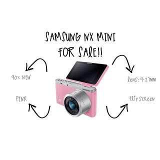 Samsung NX Mini Pink For SALE