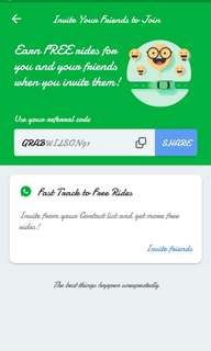 Grab promo new user free taxi teksi car