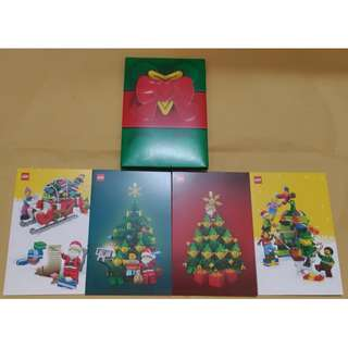 🆕⭐Lego Limited Edition Christmas Cards
