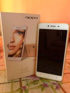 WTS : Pre-Loved OPPO A37 Gold
