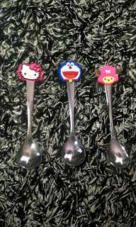 Cartoon character spoon