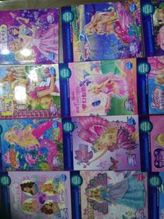 Barbie books