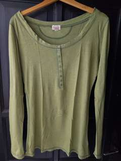 Mossimo Army Top