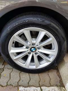 17 inch Rims with Pirelli Tyres