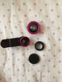 Secondhand clip lenses