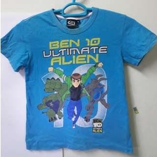 ORI BEN 10 CARTOON NETWORK KIDS T-SHIRT