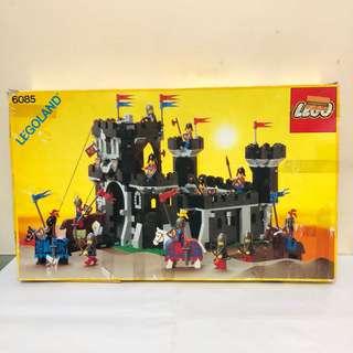 LEGO 6085 Black Monarch's Castle Year 1988 Empty Box 吉盒