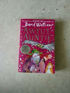 'Awful Auntie' book by David Williams