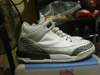 Jordan 3 white cement 2011 release