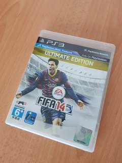 Selling mint condition Fifa 14 game for PS3