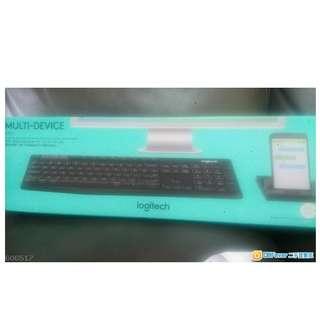 Logitech K375s 無線藍牙 keyboard ! 連平板電話 支架組合
