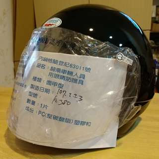 🚚 YAMAHA山葉3/4罩安全帽 全新
