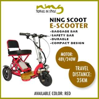 Ninglife Scoot Electric Scooter (48V 240W)