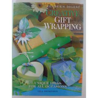 Reader's Digest Hard Cover - Creative Gift Wrapping