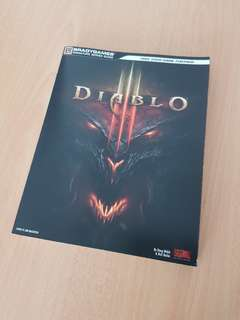 Selling mint condition diablo 3 game guide book