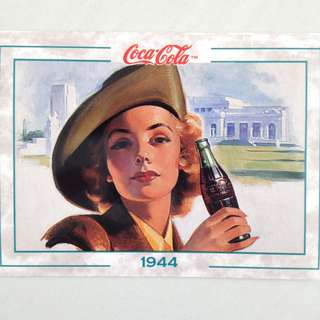 1994 Coca Cola Series 2 Base Card #135 - Australian Girl - 1944