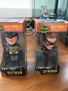 Batman & Catwoman Bobblehead
