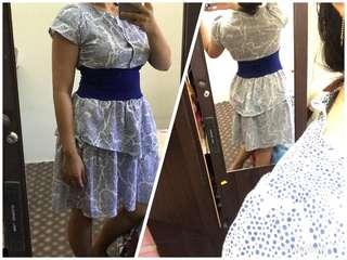 Prelove murah-murah - long dress RM15 ( LD01)