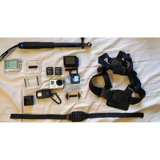 GoPro 3 Plus package for SALE