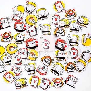 (PO) Sushi Stickers