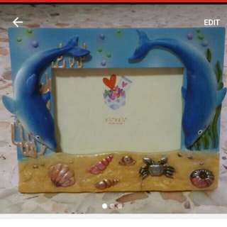 Photo Frame dolphin cute
