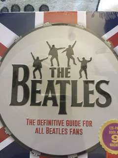 the BEATLES box-book- magnet