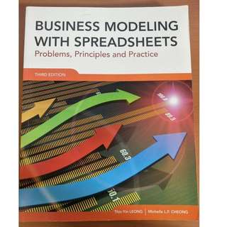 Business Modeling with Spreadsheets Third Edition (IS 102)