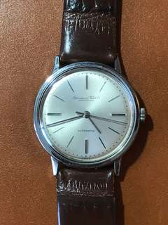 古董IWC 萬國 803A全鋼自動男裝手錶