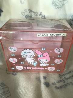 My Melody box w memo