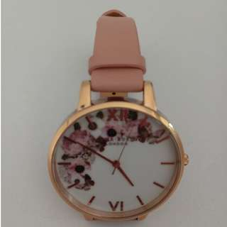 PRICE DROP! Olivia Burton Rose Gold Flowers Watch - Almost New