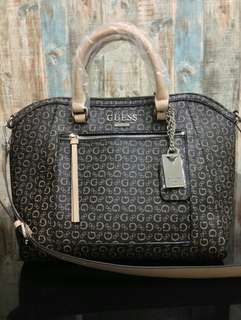 💯Authentic Guess Claire Maine Satchel Handbag #ramadan50