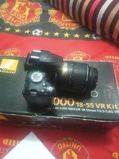 Nikon D3000 fullset