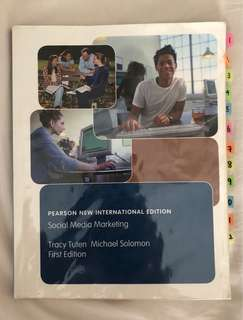 NM2203 Social Media Marketing (1st edition)