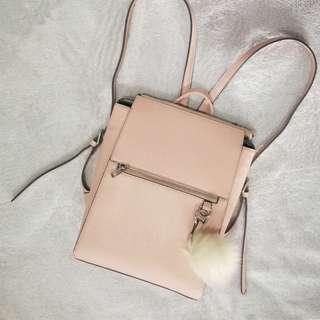 EVER NEW Modern Pink Structured Backpack Bag