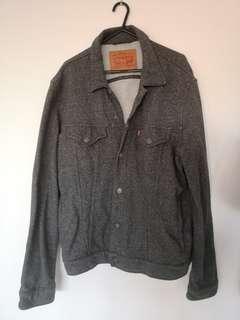 Levis jacket grey