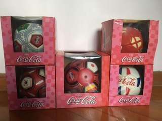 [珍藏絕版] 可口可樂 CocaCola 2002世界盃 紀念足球
