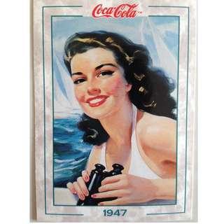 1994 Coca Cola Series 2 Base Card #126 - Original Art - 1947